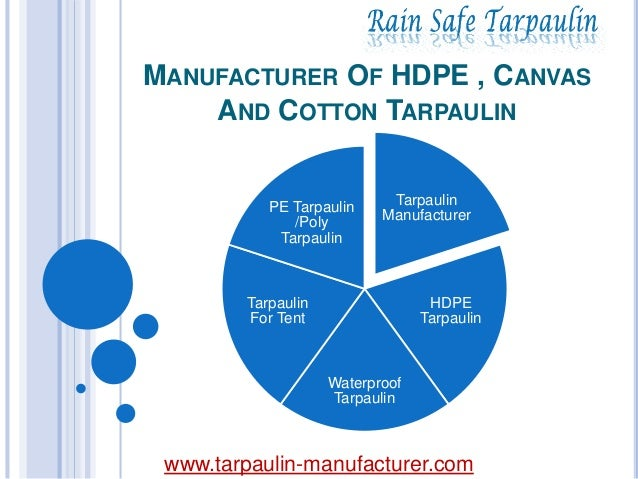 MANUFACTURER OF HDPE , CANVAS AND COTTON TARPAULIN Tarpaulin Manufacturer HDPE Tarpaulin Waterproof Tarpaulin Tarpaulin Fo...