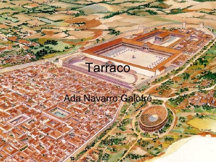 Tarraco Ada Navarro Galofré