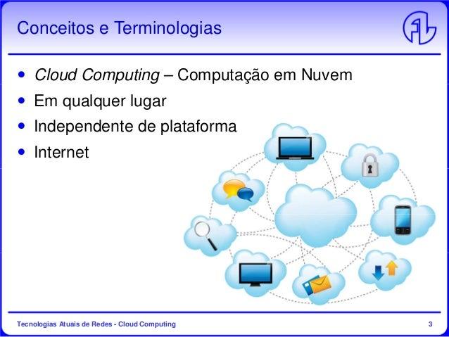 Tecnologias Atuais de Redes - Aula 6 - Cloud Computing Slide 3