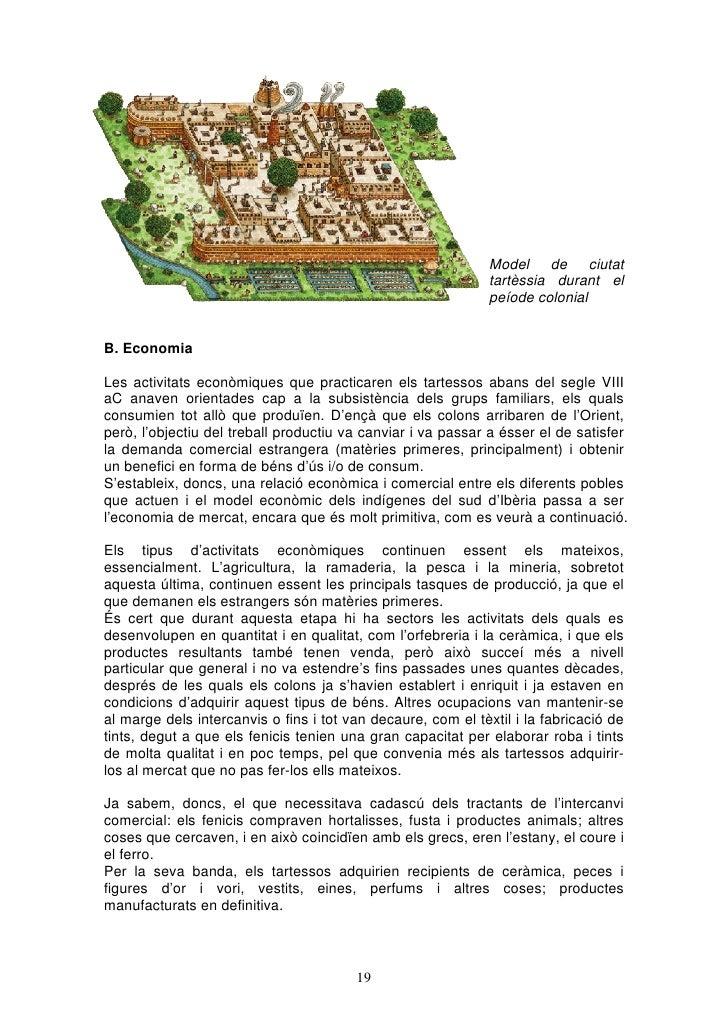 Model de ciutat                                                              tartèssia durant el                          ...