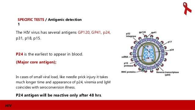 Laboratory diagnosis of hiv infection - Test hiv p24 periodo finestra ...