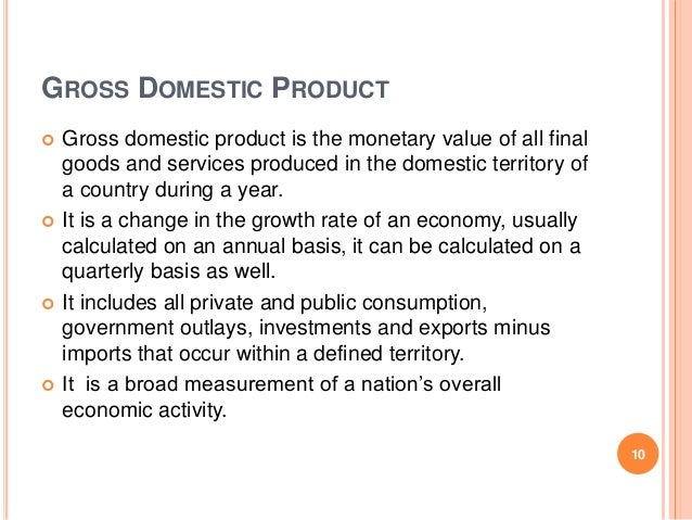 difference between gdp gnp and nnp Net national product at market price (nnpmp): net national product at market  prices is  gdpfc = domestic factor income + consumption of fixed capital   gross national product at factor cost (gnpfc): it is the difference between the.