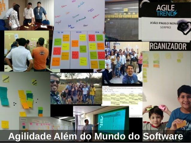 Agilidade Além do Mundo do Software