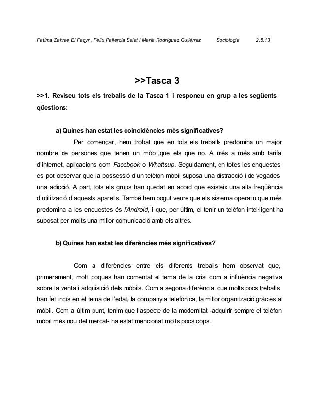 FatimaZahraeElFaqyr,FèlixPallerolaSalatiMaríaRodríguezGutiérrezSociologia2.5.13>>Tasca3...
