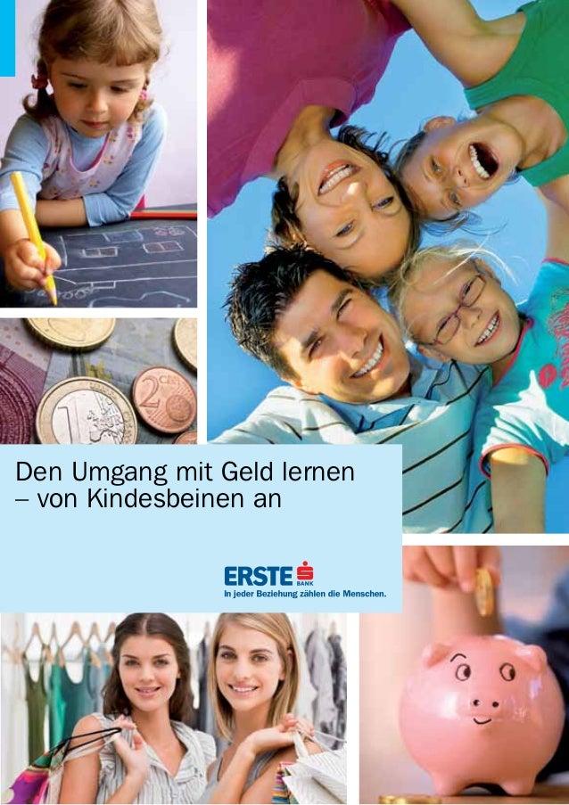 Den Umgang mit Geld lernen– von Kindesbeinen an