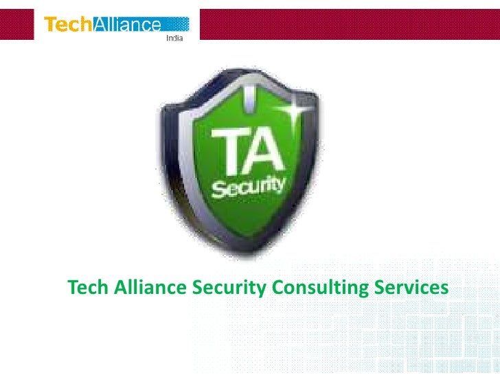 Tech Alliance Security Consulting Services