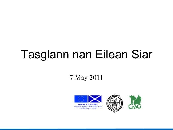 Tasglann nan Eilean Siar 7 May 2011