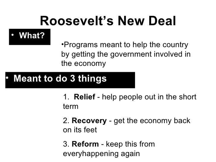 Franklin Delano Roosevelt and the New Deal Essay Sample