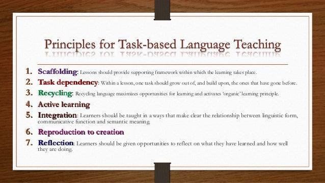 task based instruction activities
