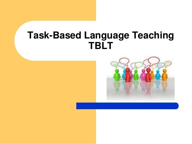 explicit instruction in task based language teaching The task-based approach in language teaching 41 is the goal in the first section of this paper a detailed discussion will follow on what a task is.