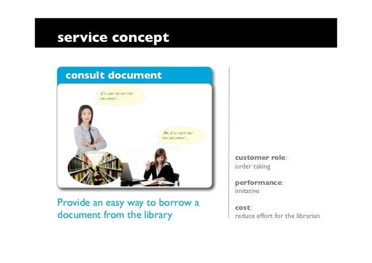 Task analysis in service design Slide 3