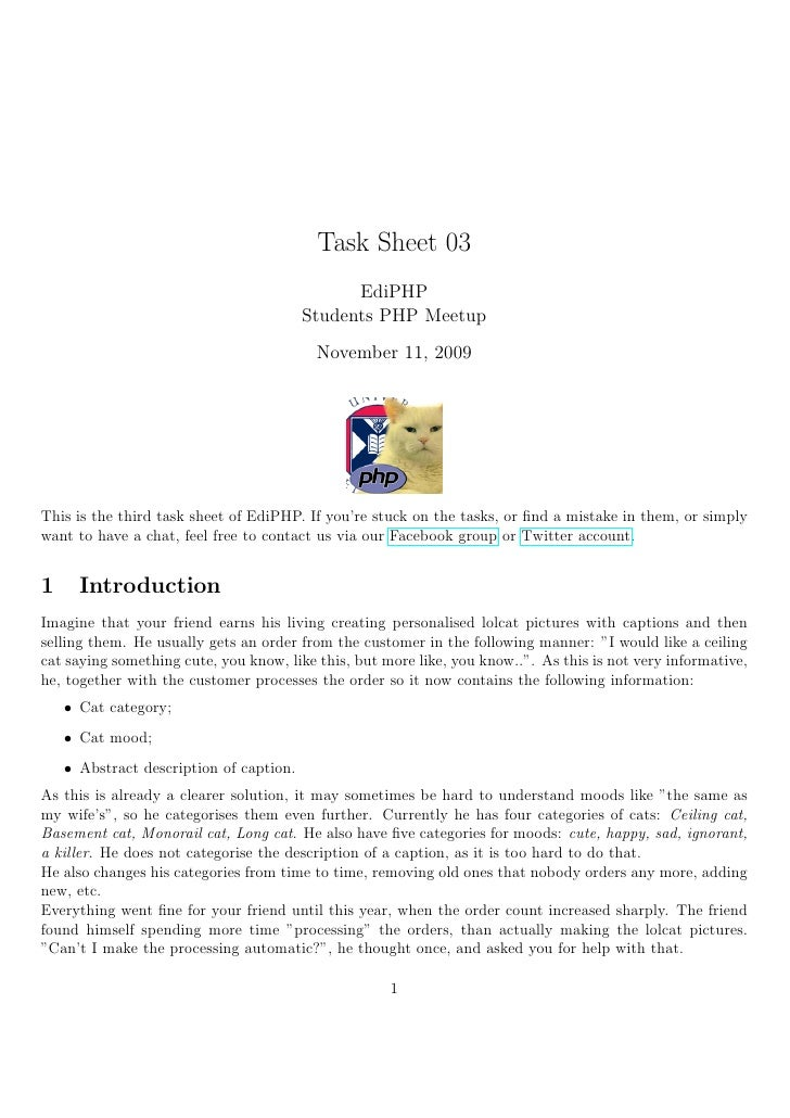 Task Sheet 03                                                EdiPHP                                          Students PHP ...