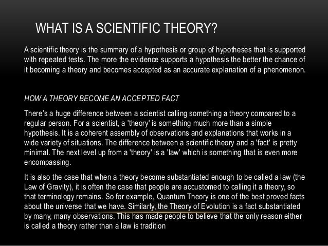 10 Scientific Laws and Theories You Really Should Know