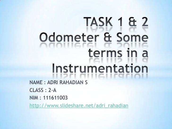 NAME : ADRI RAHADIAN SCLASS : 2-ANIM : 111611003http://www.slideshare.net/adri_rahadian