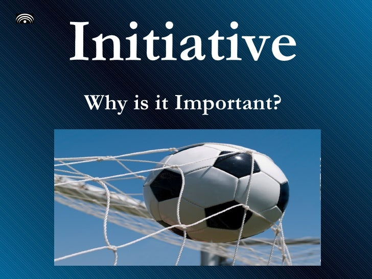 Initiative Why is it Important?