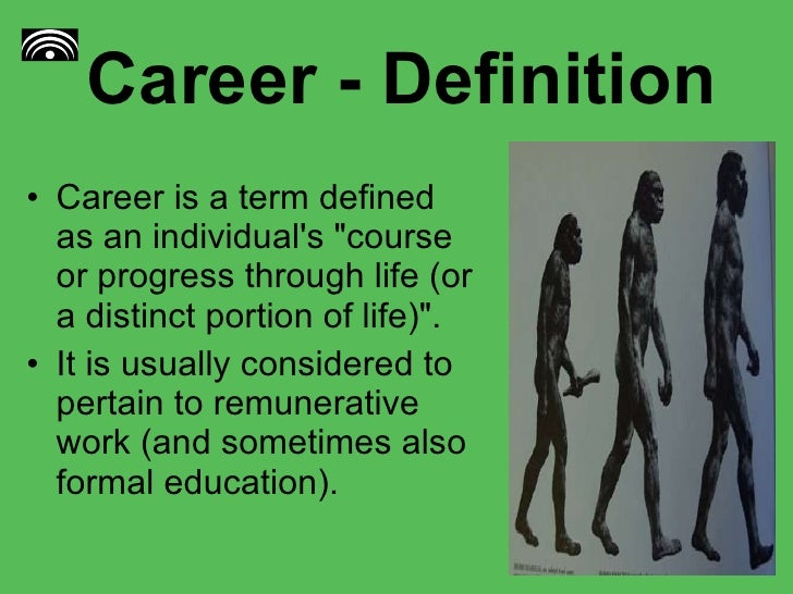 career definition