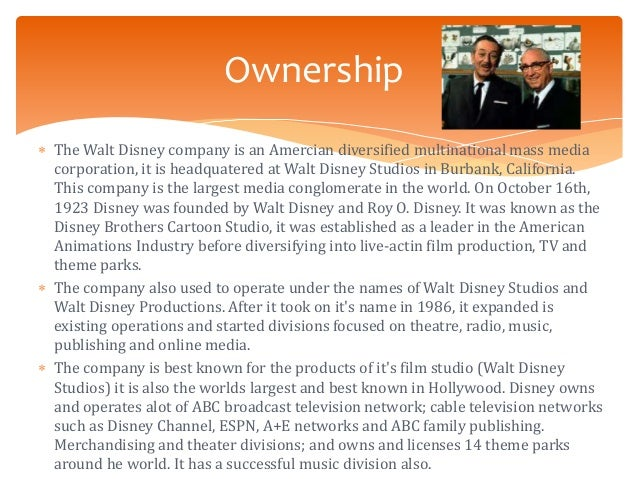 organizational structure of walt disney world The walt disney world resort division in florida is a well-known recreation spot in the world it serves as a place for leisure, hobby, sports, exercise, creativity, pastime, playful, and amusing activities for the visitors.