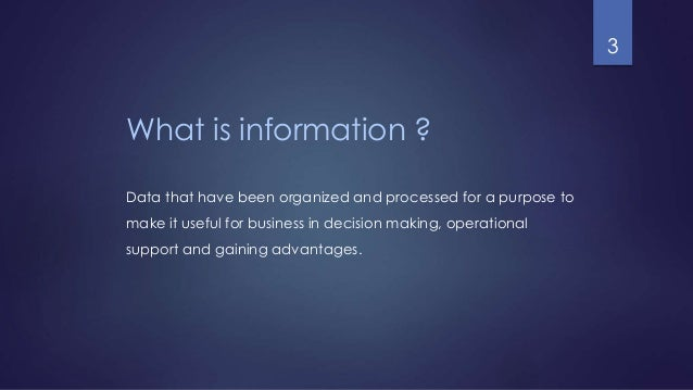 characteristics of information Information is a vital resource for the success of any organization future of an organization lies in using and disseminating information wisely good quality information placed in right context in right time tells us about opportunities and problems well in advance.
