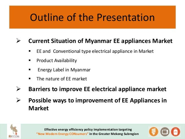 the development situation of household appliances Performance standards and residential energy efficiency in egypt  household appliances  withstanding the overall price-cost situation,.
