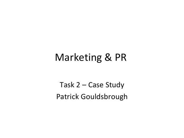 marketing case study task 2 Question details of task: both a product (or a service) and a market set the context of this assignment drawing on your understanding of the relevant international marketing issues, assume you are.