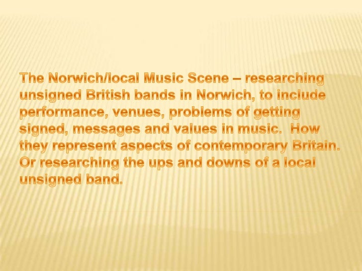 ''An unsigned band is a band that has not beensigned to a record label. Bands that releasetheir own material on self-publi...