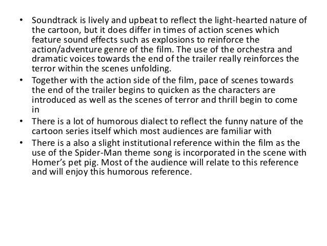 Task 3   analysis of film trailer Slide 3