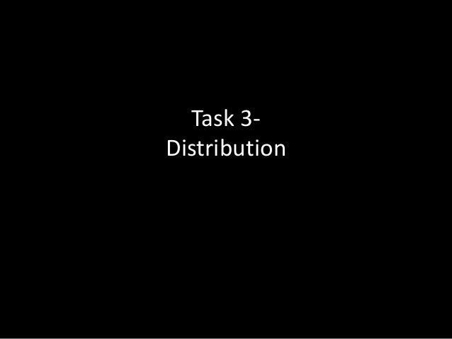 Task 3Distribution