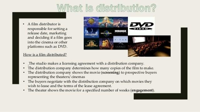 Distribution In Media As