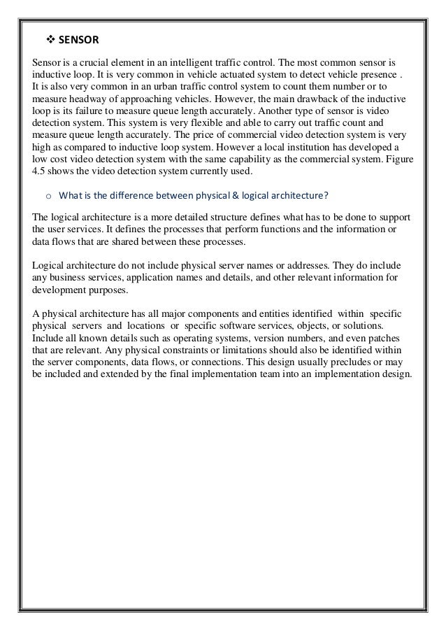 intelligent traffic control system pdf