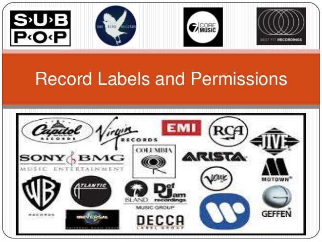 Record Labels and Permissions