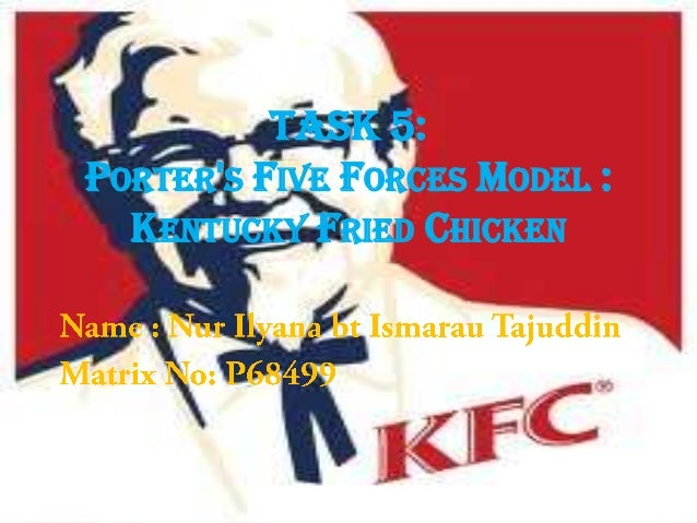 Porter 5 forces of kfc in malaysia