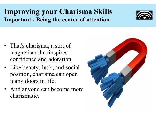 how to develop charisma pdf