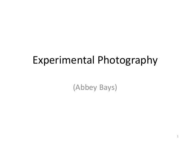 Experimental Photography (Abbey Bays)  1
