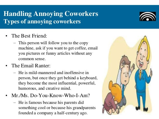 types of coworkers