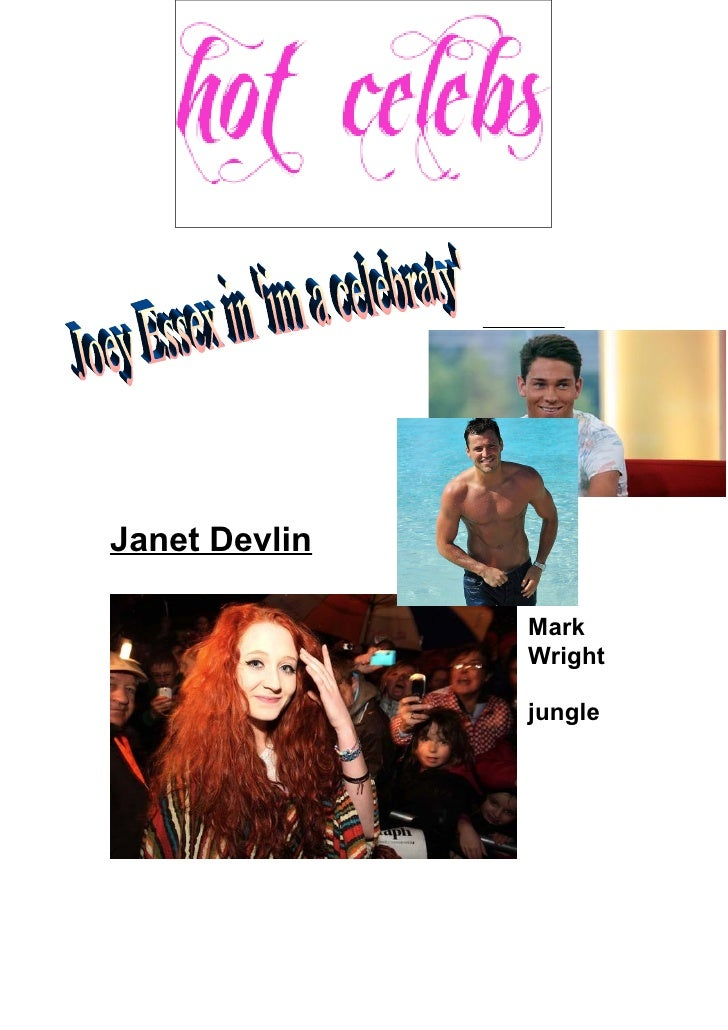Janet Devlin               Mark               Wright               in the               jungle