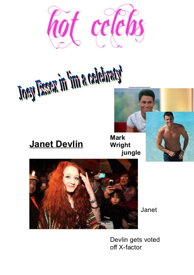 Janet Devlin Mark Wright in the jungle Janet Devlin gets voted off X-factor