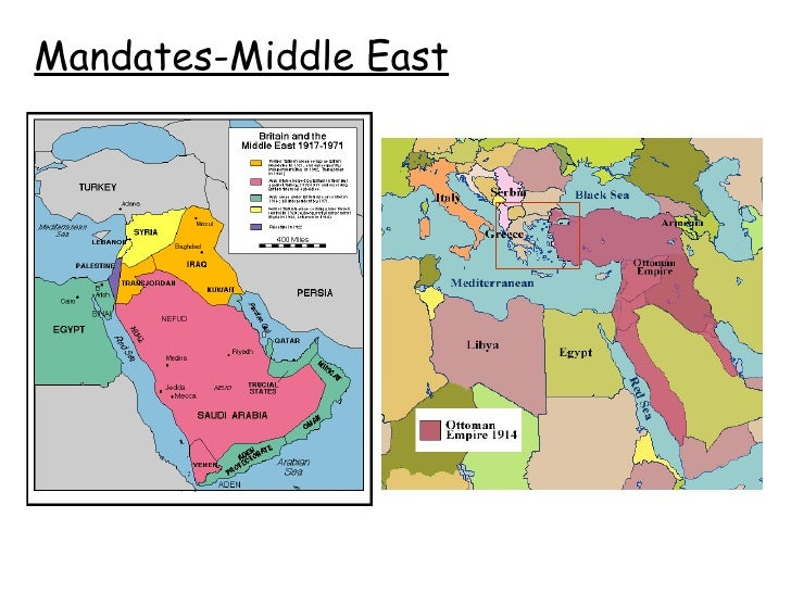 Middle East Before And After Ww1