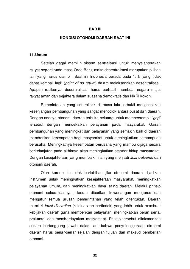 Konsep Otonomi Daerah Pdf Download