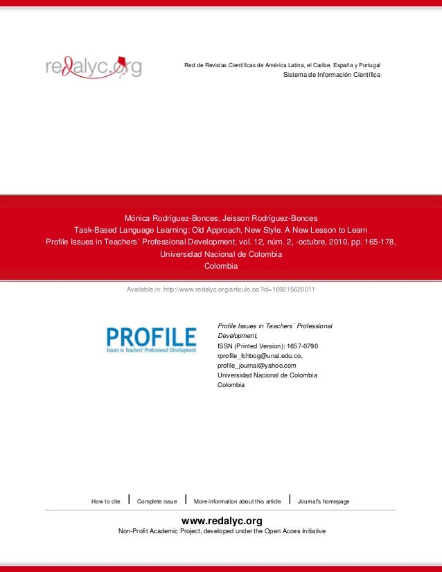 Red de Revistas Científicas de América Latina, el Caribe, España y Portugal  Sistema de Información Científica  Mónica Rod...