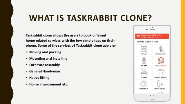 Taskrabbit Clone Slide 2