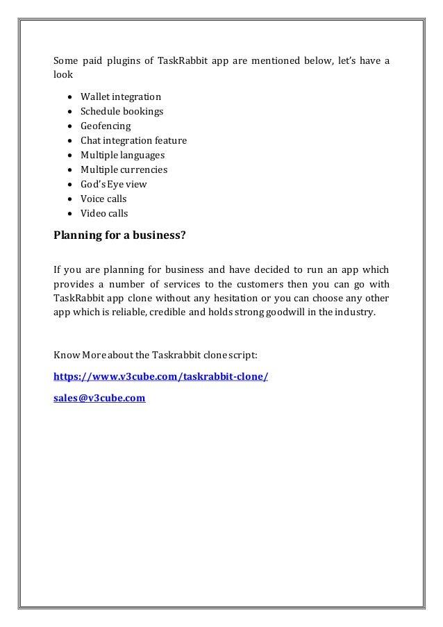 Taskrabbit clone on demand services Slide 3
