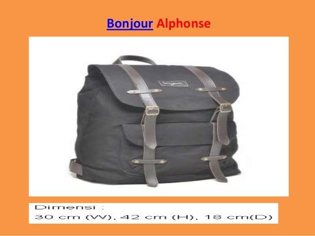 Bonjour Alphonse