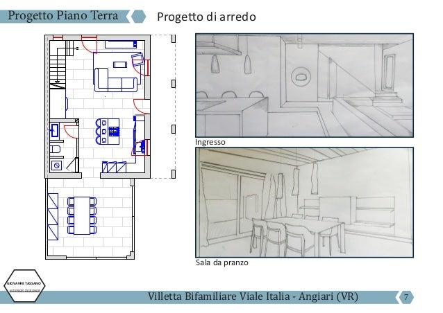 Giovanni tassano esame corso interior design annuale for Progetto piano terra