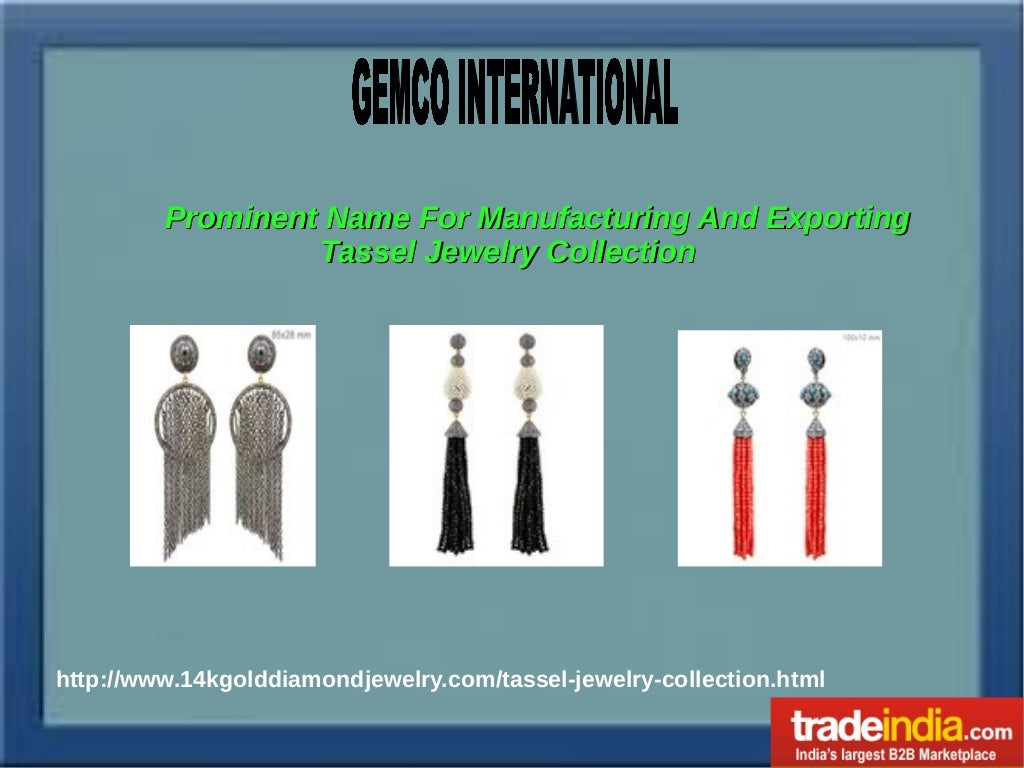 Tassels Jewelry Collection Exporter, Manufacturer, Jaipur