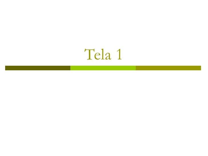 Tela 1