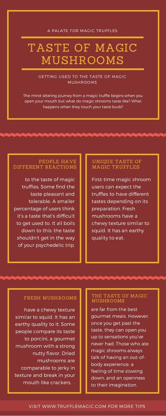Taste of Magic Mushrooms