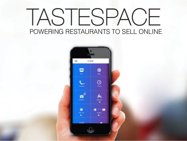 POWERING RESTAURANTS TO SELL ONLINE