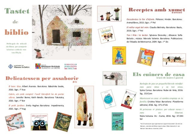 Petita guia de selecció de llibres per compartir la lectura amb els nos- tres fills/es (cartoné) Descobreixo la llar d'inf...