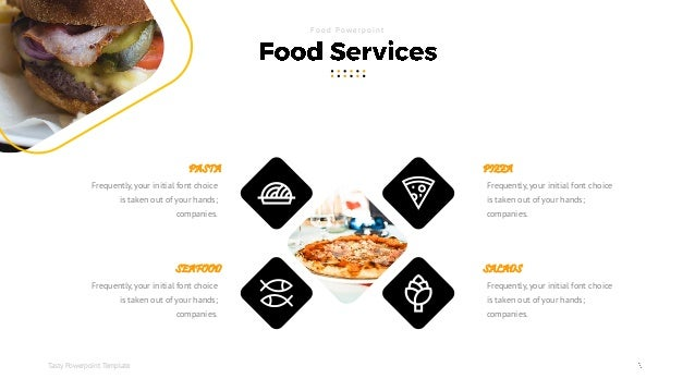Tasty Food Powerpoint Template