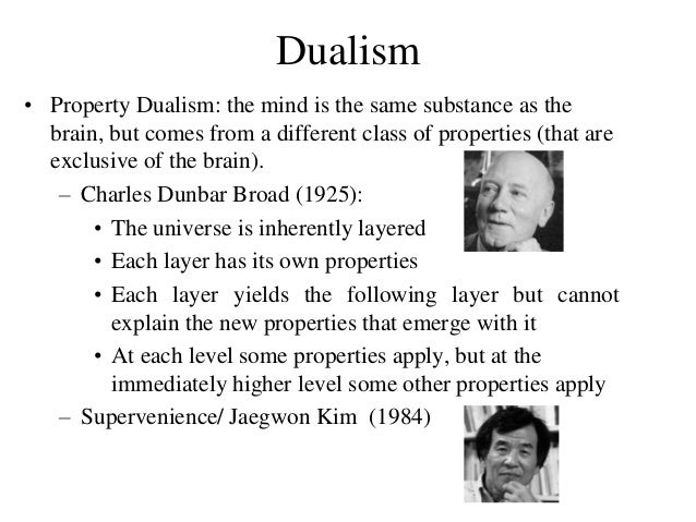 a study on the dualist dilemma René descartes (/ ˈ d eɪ ˌ k ɑːr t / he enrolled at the leiden university to study mathematics with in line with his dualist teachings on the.